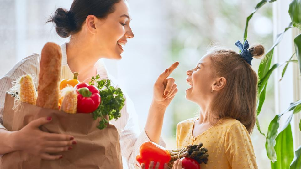 здравословно храна семейство