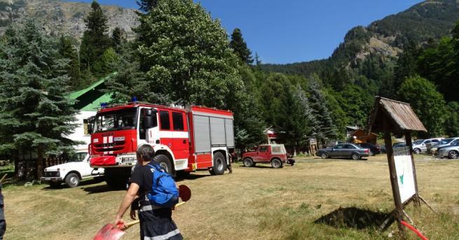 Снимка: Пожарът край Сухото езеро в Рила е локализиран