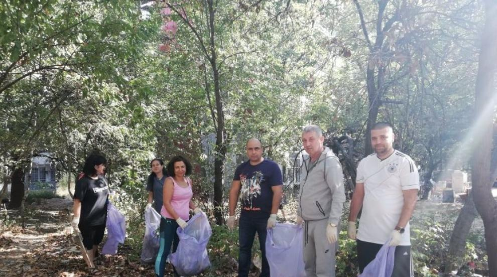 """ЖЕНИ ГЕРБ в Плевен подкрепи кампанията """"Да изчистим България заедно"""""""