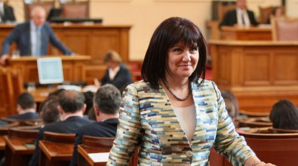 Караянчева ще посреща студенти при омбудсмана за международния ден за...