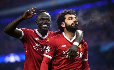 Салах и Робъртсън тренират за Ливърпул