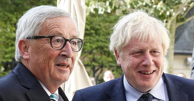 Преговорите между Великобритания и Европейския съюз за споразумение за напускане