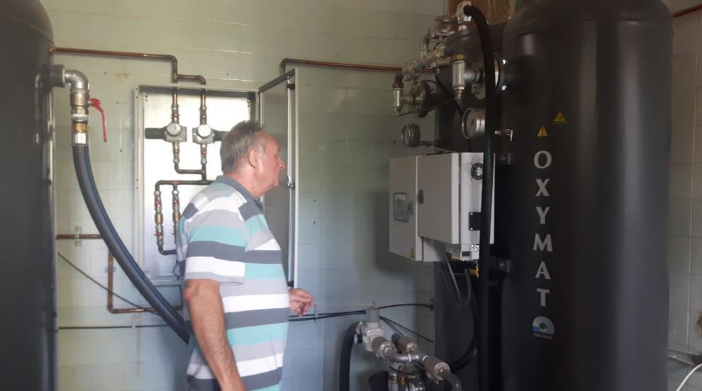 Ноу хау: УМБАЛ Бургас премина към собствено производство на кислород