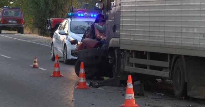 Жена загина при катастрофа на пътя Русе-Бяла, преди разклона за