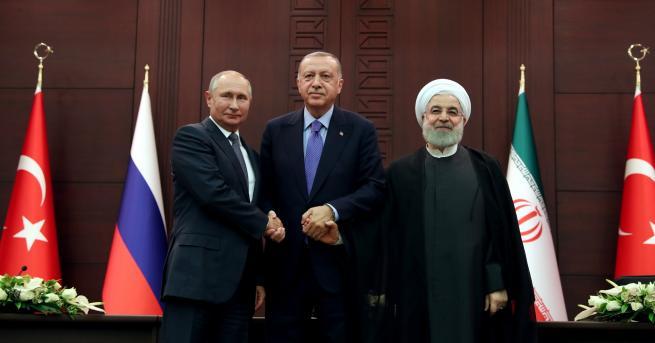 """Свят Турция, Русия и Иран с """"продуктивна"""" среща за Сирия"""