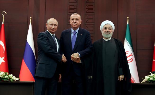 """Турция, Русия и Иран с """"продуктивна"""" среща за Сирия"""