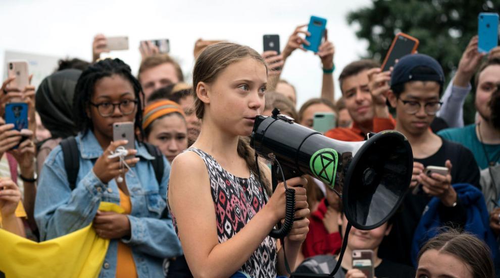 Грета Тунберг грабна детската награда за мир и чек за 100 000 евро (СНИМКИ)