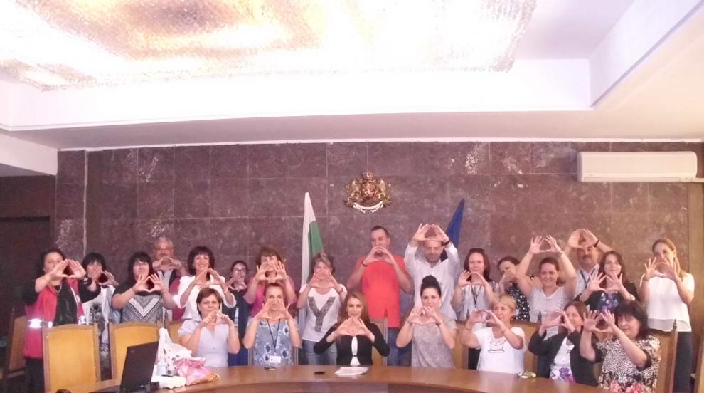 Областната администрация в Ловеч се включи в международната  кампания EDWARD...