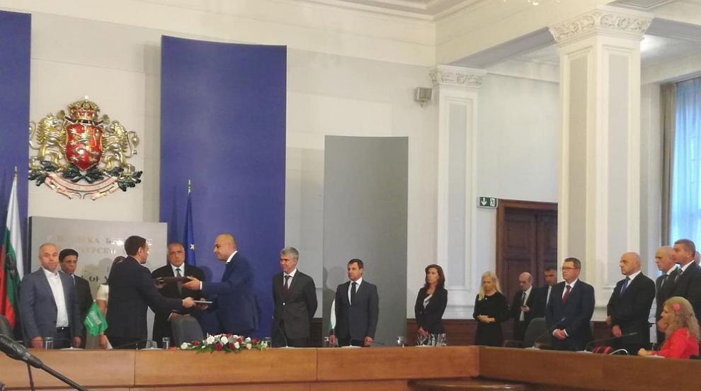 "Подписахме договор за изграждането на ""Турски поток"""