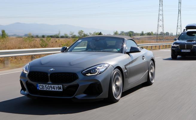 Назад към доброто старо време с BMW Z4 M40i (тест драйв)