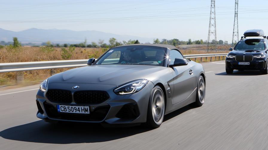 <p>Към доброто старо време с BMW Z4 M40i (тест драйв)</p>