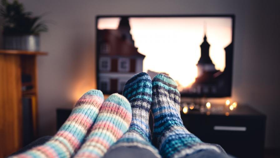 есен зима студ филм двойка чорапи