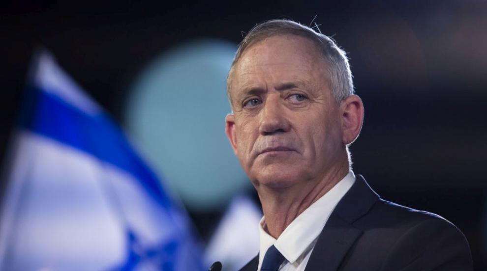Бени Ганц иска да е премиер в правителство на националното единство