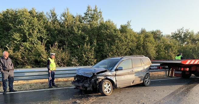 Катастрофа стана тази сутрин на автомагистрала
