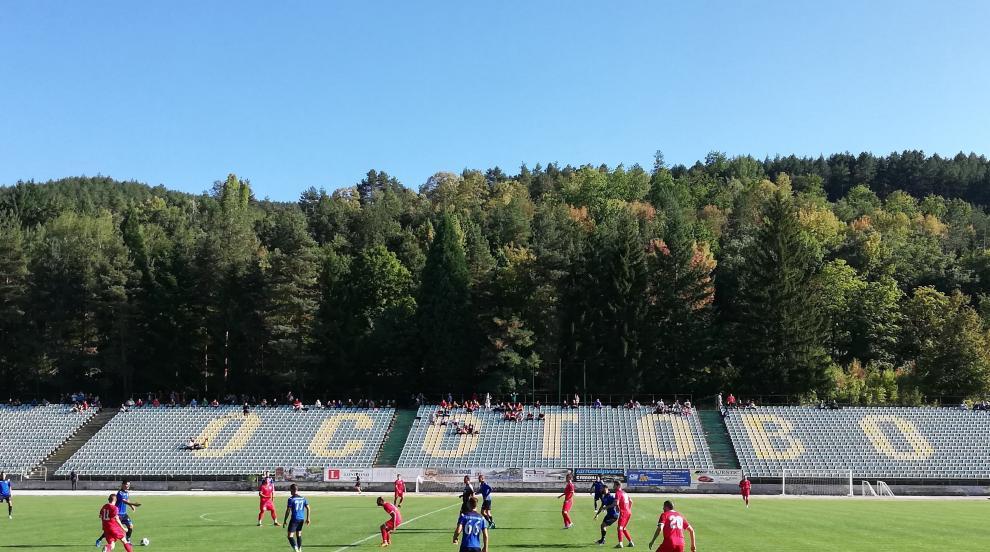 ФК Кюстендил с класическото 3:0 срещу Сливнишки герой