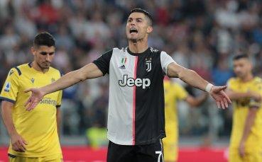 Роналдо измъкна Юве в специалния мач за Буфон