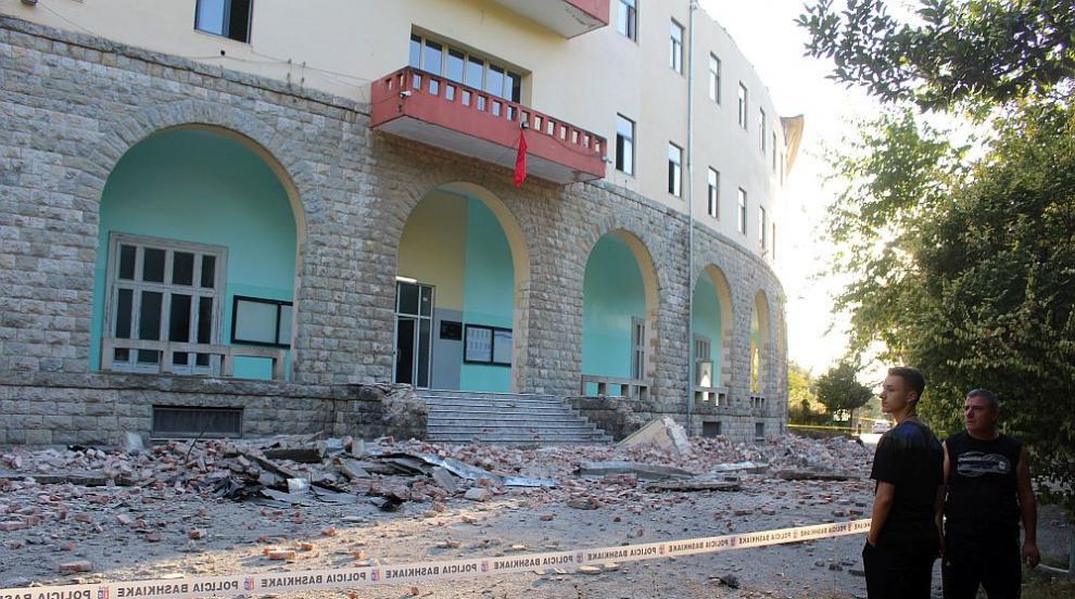 Няма пострадали българи при земетресенията в Албания