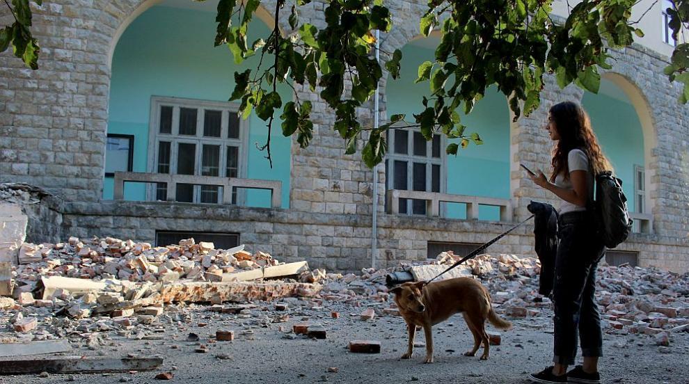 Десетки хора са пострадали при силните трусове в Албания (СНИМКИ)