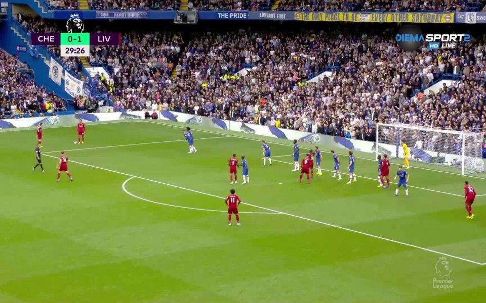 Ливърпул се оттегли на почивка с аванс от 2:0 срещу