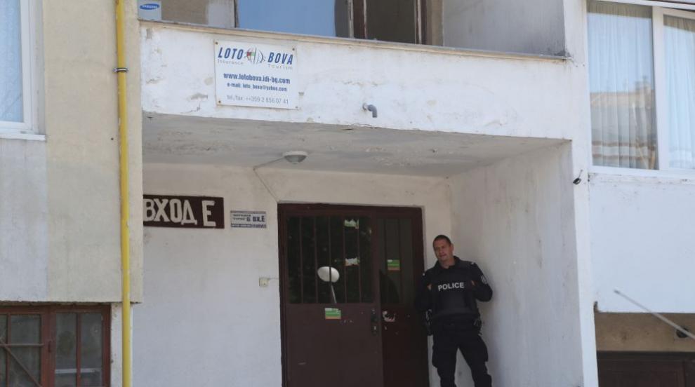 Разпитът на барикадиралия се в дома си в София мъж продължил цяла нощ (ВИДЕО)