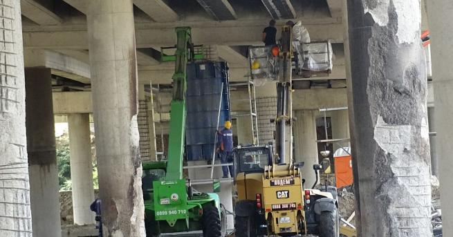 Започна ремонтът на моста на Автомагистрала