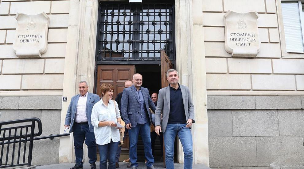 Листата за общински съветници на ГЕРБ за София - журналист и зам.-министър...