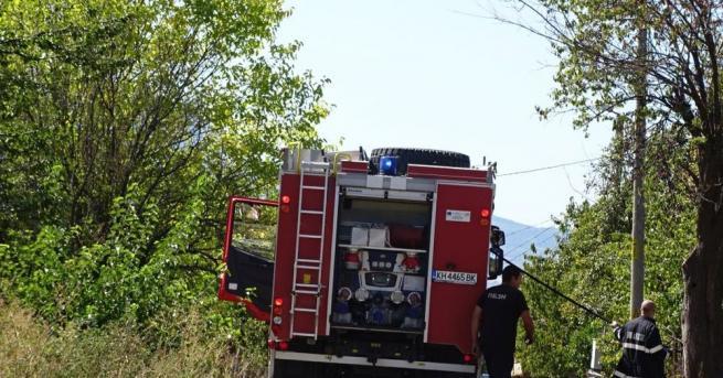 84-годишна жена е пострадала при пожар в Раковски, съобщиха от