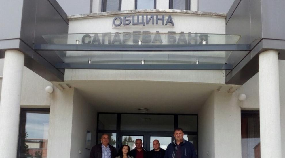 ГЕРБ регистрира кандидатите си за кметове и съветници в общините Сапарева...