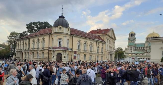 Пореден марш срещу кандидатурата на Иван Гешев за главен прокурор