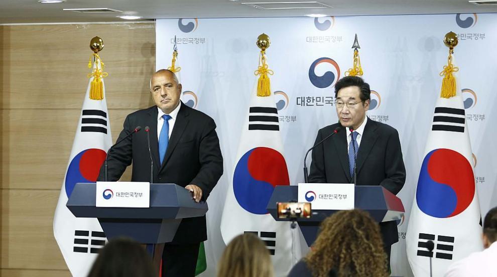 Борисов в Сеул: Образованието е приоритет за нашите държави (ВИДЕО)