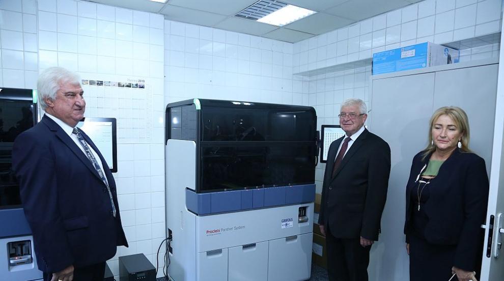 Иновативен апарат ще изследва прецизно дарената кръв за хепатити и ХИВ...