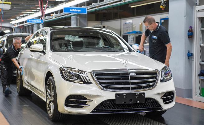Заводът на Mercedes в Зинделфинген в цифри и факти
