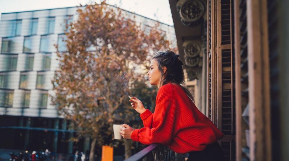 Първа глоба за пушене на балкон в Русия