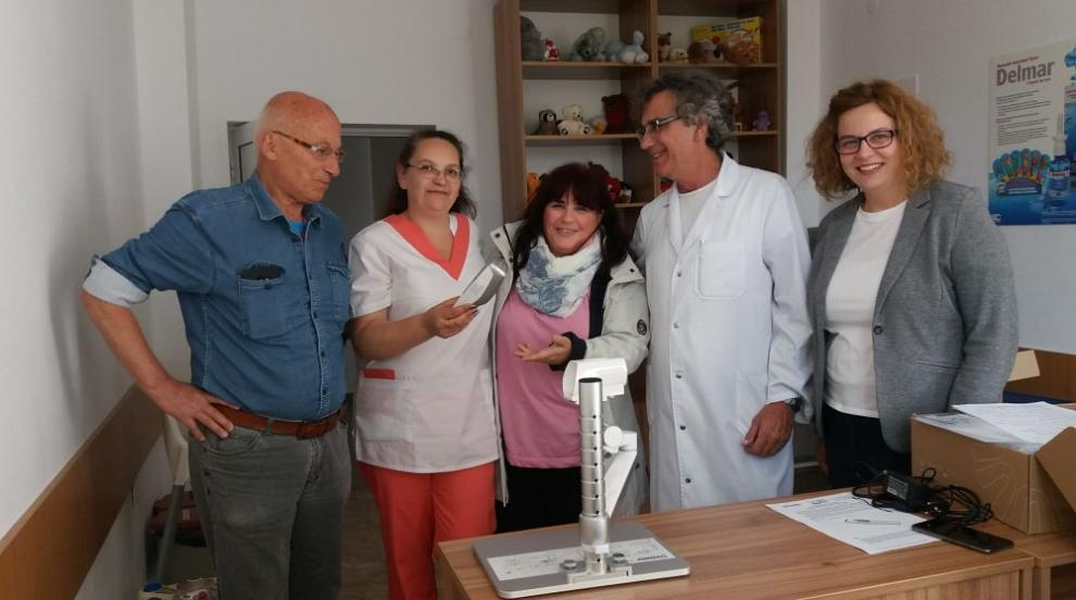 Фирма дари на Детско отделение в Смолян апарат за лесно и безболезнено...