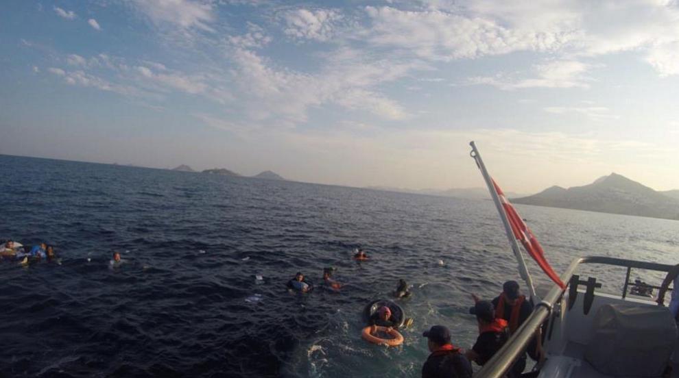 Тежък инцидент в морето край Измир: Четирима души...