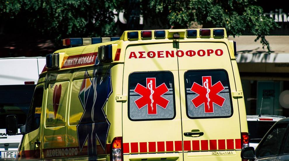 Шофьор е в болница след катастрофа в Боаза