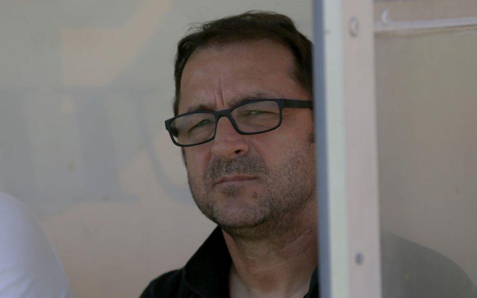 Старши треньорът на Ботев Пловдив Желко Петрович призна, че иска