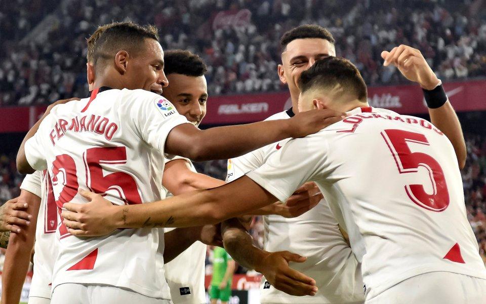 Първа домакинска победа за Севиля в Испания