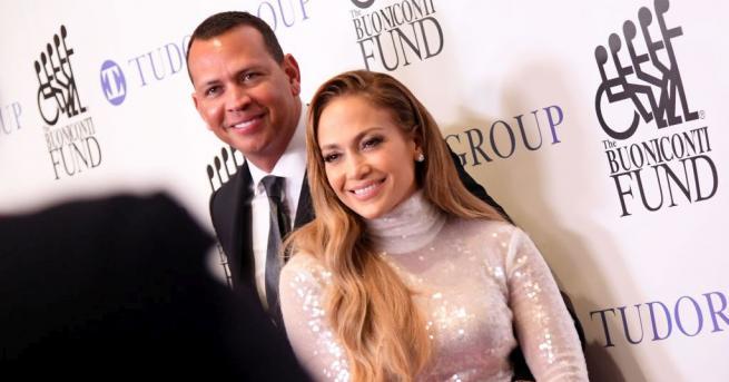 Певицата и актриса Дженифър Лопес и бившият бейзболист Алекс Родригес