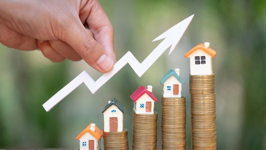 <p>35% ръст на цените на имоти у нас&nbsp;</p>