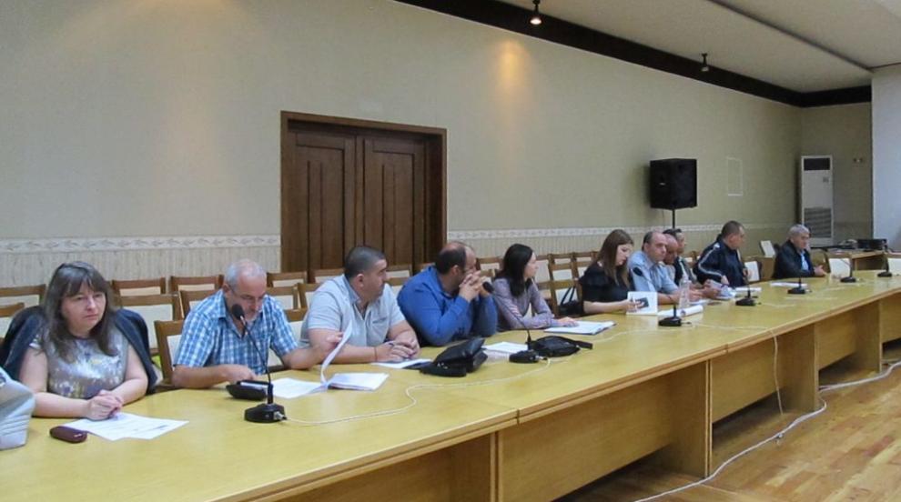 Първо заседание на Областната комисия по безопасност на движението