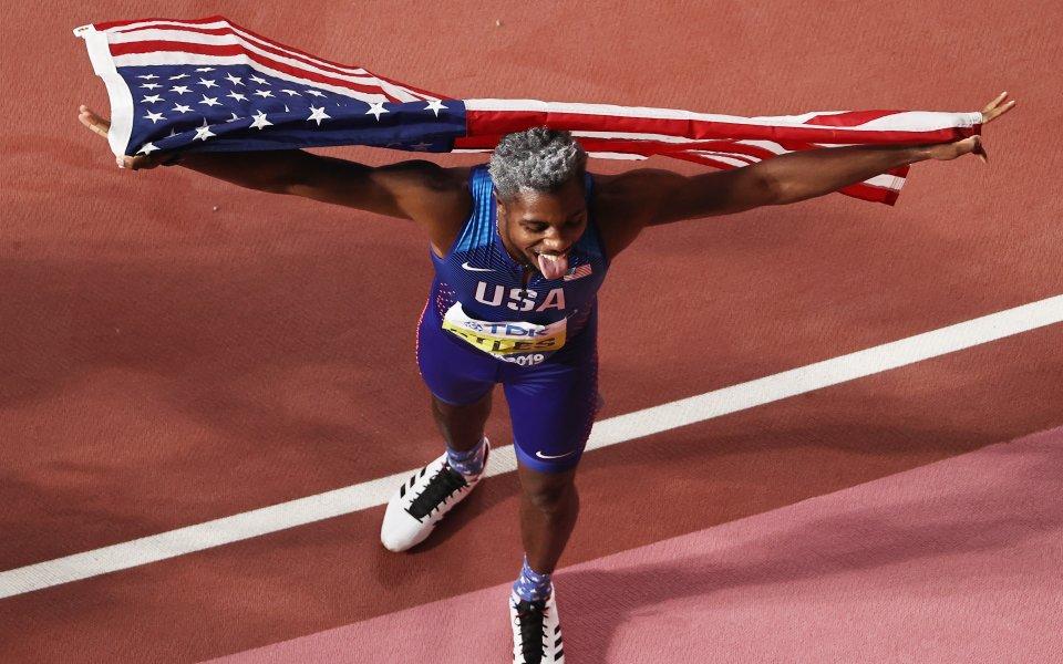 САЩ обра златните медали на 200 и 800 метра при мъжете в Доха
