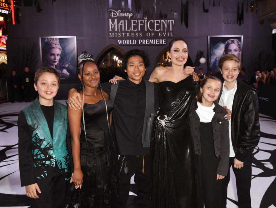 Анджелина Джоли Господарка на злото Злодеида премиера