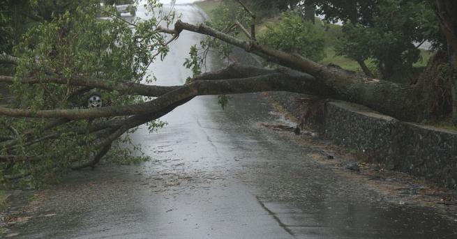 Британските метеоролози съобщиха, че остатъци от бившия ураган, известен като