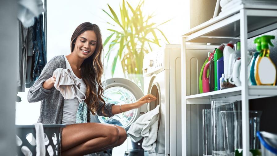 чистене момиже пералня пране