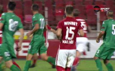 Кристиян Малинов разстреля вратата на своя съименник за 3:0