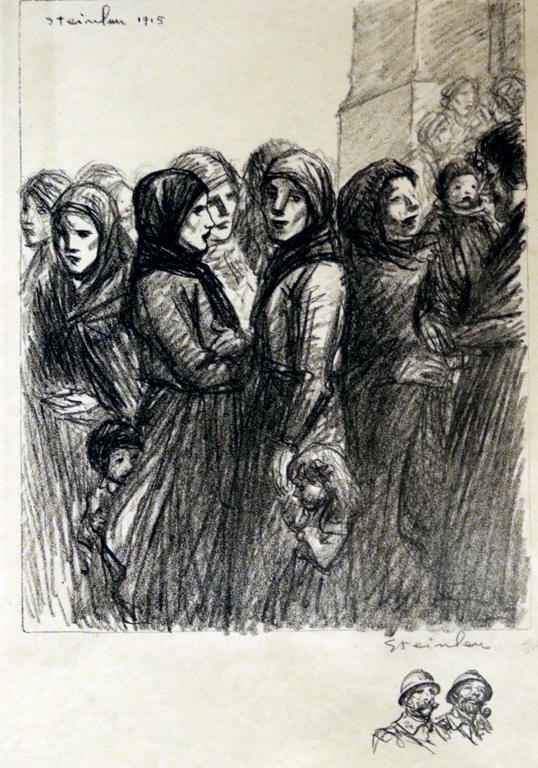 <p>Теофил-Александър Стайнлен, Франция. 1915, литография</p>