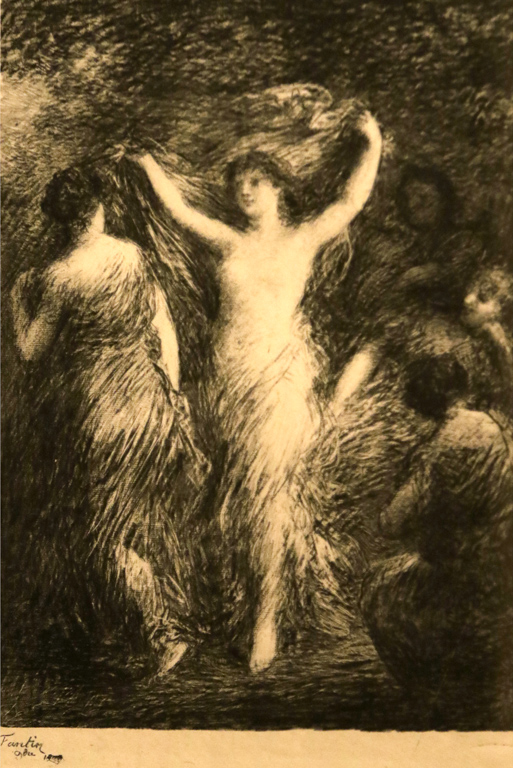<p>Анри Фантен-Латур, Франция. Танц, литография</p>
