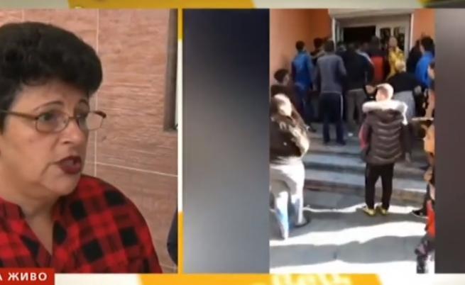 За паниката в Сливен: Родителите разплакани си взимаха децата