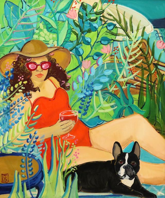 <p>&quot;Нереална реалност&quot; е серия от картини на художничката Гергана Димитрова. В тях ще усетите цветната закачка към възприятията ни за заобикалящия свят, който може да бъде колкото реален, толкова и нереален. &quot;Розовите очила&quot; &ndash; масло върху платно</p>